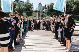 Hochzeitsreportage Rügen Seebrücke Sellin