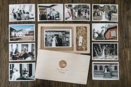Hochzeitsfotograf Kiel Hochzeit im botanischen Garten Fotogeschenkbox