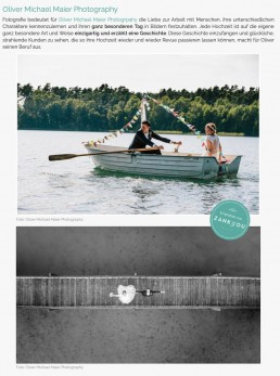 Die besten Hochzeitsfotografen aus Hamburg und Umgebung Featured on Zankyou